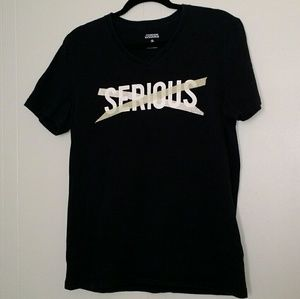 Foreign Exchange - Black Not Serious Tee Shirt